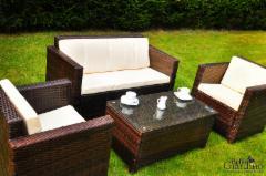 Lauko baldų komplektas Calmo rudas Outdoor furniture sets