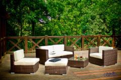 Lauko baldų komplektas DISCRETO Dārza mēbeļu komplekti