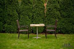 Lauko baldų komplektas DUO, rudas 001 Lauko baldų komplektai