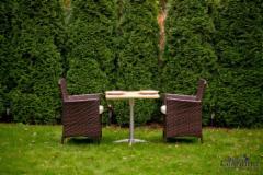 Lauko baldų komplektas GENEROSO rudas Lauko baldų komplektai
