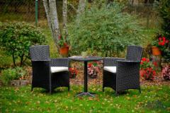 Lauko baldų komplektas POCO juodas 003 Lauko baldų komplektai