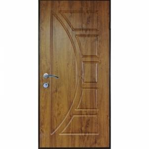 Lauko durys ARMA T2-108 Kairinės 960x2050 auksinis ąžuolas Metalinės durys