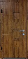 Lauko durys MAGDA (ARMA) T2-128 96K auksinis ąžuolas Metalinės durys