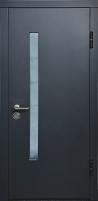 Lauko durys VERTUS FOR HOUSE 182 SU STIKL. 96D Antracitas Metalinės durys
