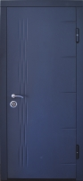 Lauko durys VERTUS FOR HOUSE 39 86D Antracitas Metalinės durys