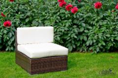 Dārza moduļa dīvāns (bez roku balstiem) MS001 Dārza krēsli