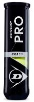 Lauko teniso kamuoliukai Dunlop PRO COACH 4-tube