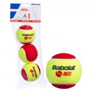Lauko teniso kamuoliukai Red Felt