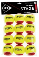 Lauko teniso kamuoliukai STAGE 3 12-polybag Outdoor tennis balls