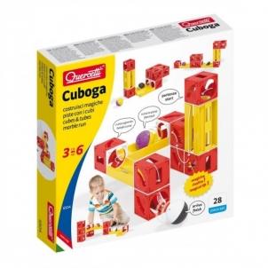 Lavinamasis žaislas 6504 Quercetti Cuboga cubes & tubes marble run