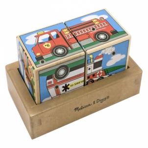 Lavinamasis žaislas Vehicle Sound Blocks