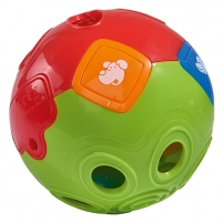 Lavinimo žaislas ABC Rolling Ball with light+Sound