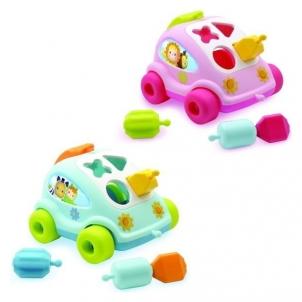 Lavinimo žaislas Cotoons Shape Sorter Car
