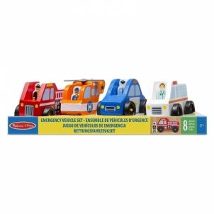 Lavinimo žaislas Emergency Vehicle Set