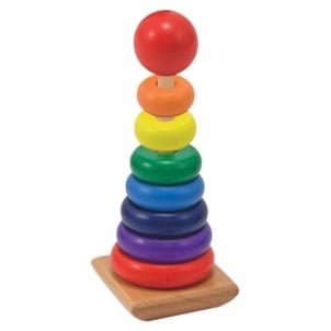 Lavinimo žaislas Rainbow Stacker