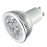 LED lemputė 3W, GU10 cok. Šviesos diodų (LED) lempos