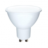 LED lemputė Whitenergy | GU10 | 10 SMD 2835 | 5W | 230V| pienas | MR16