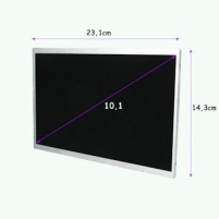 LED matrica Qoltec 10.1 1024*600 MATTE - 40 Pin, GRADE A+