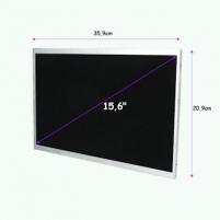 LED matrica Qoltec 15.6 1366*768 GLOSSY - 40Pin, GRADE A+ Monitoru piederumi