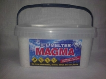 Ledo tirpiklis ,,Magma'' 8kg Druska ir mišiniai sniego/ ledo tirpdymui