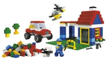 LEGO 6166 Large Brick Box Lego bricks and other construction toys