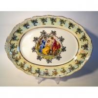 Lėkštė ovali 26cm,Verona,Y3587 Lėkštės