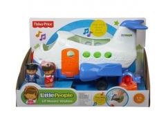 Lėktuvas CBL28 / CBP40 Fisher Price Little People Happy Plane PL Žaislai kūdikiams
