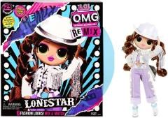 Lėlė 567233 / 567226 L.O.L. Surprise! O.M.G. Remix Collectable Fashion Doll + 25 - LONESTAR