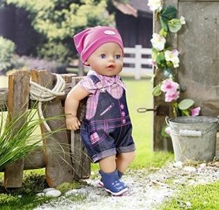 Lėlė 823682 Baby Born Pony Farm Deluxe Outfit