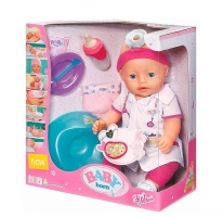Кукла Baby Born Доктор (интерактивная) Zapf Creation 820421 / 819173