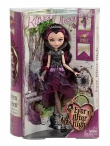 Lėlė CFB14 / BBD42 Mattel Ever After High Raven Queen CBR34 / CBR35 / BFW94 Žaislai mergaitėms