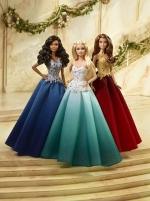 Lėlė DGX99 Barbie Holiday Doll MATTEL