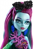 Lėlė DHB48 / DHB50 Monster High Posey Reef Great Scarrier Reef Mat