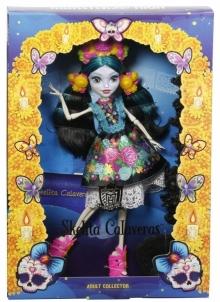 Lėlė DPH48 Monster High - Skelita Calaveras lėlė MATTEL Toys for girls