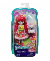 Lėlė DVH87 / FCG64 Enchantimals Karina Koala Doll