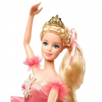 Lėlė DVP52 Barbie Collector Doll, Ballet Wishes Doll with Braided Hair, Tutu and Ballet Shoes