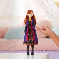 Lėlė E7001 / E6952 Disney Frozen Anna Autumn Swirling Adventure Fashion Doll That Lights Up, Inspired by