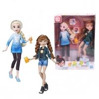 Lėlė E7417 / E7357 Disney Princess Ralph Breaks The Internet Movie Dolls, Elsa & Anna Dolls with Comfy Cl