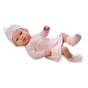 Lėlė Elegance 42cm Real Baby Rosa