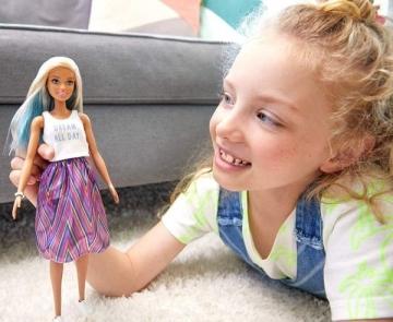 Lėlė FBR37 / FXL53 Mattel Barbie Fashionistas Doll with Long Blue and Platinum Blonde Hair