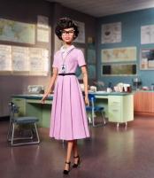 Lėlė FJH63 / FJH62 Barbie Collector Inspiring Women Series Katherine Johnson Doll