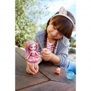 Lėlė FKV54 / FKV56 Enchantimals Clarita Clownfish Doll & Cackle Water Animal Figure MATTEL