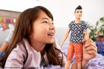Lėlė FXL62/DWK44 Barbie Ken Fashionistas Doll, Boho Hip MATTEL