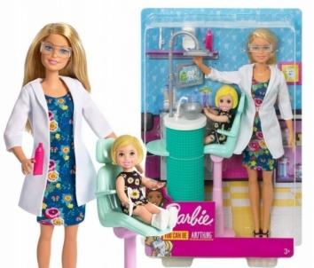 Lėlė FXP16 Barbie Dentist Doll & Playset MATTEL