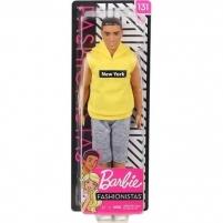 Lėlė GDV14/DWK44 KEN Barbie Fashionistas Doll MATTEL
