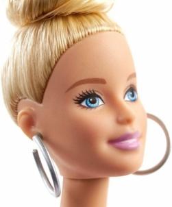 Lėlė GHW56 ��Barbie Fashionistas Doll with Blonde Updo Hair Wearing Pink MATTEL
