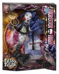 Lėlė Monster High Freaky Fusion HYBRIDS SIRENA VON BOO BJR41 / BJR42 / CCM65 Žaislai mergaitėms