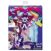 Lėlė Rainbow Rocks Equestria Girls - Twilight Sparkle B1037 / B1036