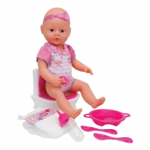 Lėlė Simba NBB Flushing Potty