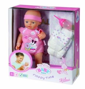 Lėlė su pampersais ir buteliuku 817773 Zapf Creation Baby born  , 32 см